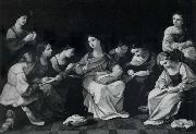 The Girlhood of the Madonna Guido Reni