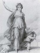 Sarah Siddons as Tragedy Richard Cosway