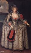 Anne of Denmark GHEERAERTS, Marcus the Younger