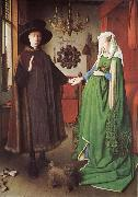 The marriage of arnolfini EYCK, Jan van