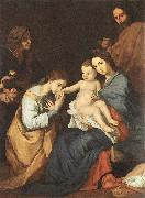 The Holy Family with St Catherine Jusepe de Ribera
