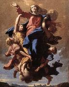 The Assumption of the Virgin POUSSIN, Nicolas