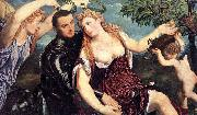 Allegory with Lovers Paris Bordone