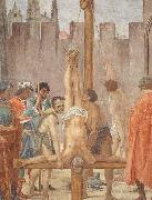 Disputation with Simon Magus and Crucifixion of Peter Fra Filippo Lippi