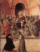 Madonna and Child with Saints and a Worshipper Fra Filippo Lippi