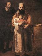 Magdalena Ventura with Her Husband and Son Jusepe de Ribera