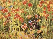 Poppies Robert William Vonnoh