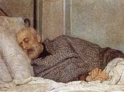 Giuseppe Mazzini on his Death Bed Sylvestro Lega