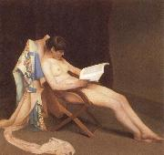 The Reading gril Theodore Roussel