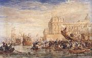 Embarkation of His Majesty George IV from Greenwich (mk47) David Cox