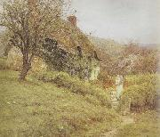 South Country Cottage (mk46) Helen Allingham,RWS