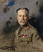 Field-Marshal Sir Douglas Haig,KT.GCB.GCVO,KCIE,Comander-in-Chief,France Sir William Orpen