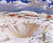 The Big Crater Sir William Orpen