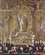 A Peace Conference at the Zuai d Orsay Sir William Orpen