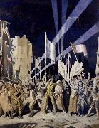 Armistice Night,Amiens Sir William Orpen