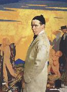 Self-Portrait with Sowing New Seed Sir William Orpen