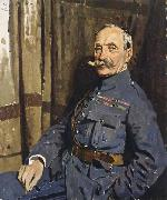 Marshal Foch,OM Sir William Orpen
