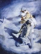 Poilu and Tommy Sir William Orpen