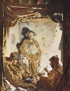 Soldiers Resting at the Front Sir William Orpen