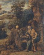 St. Jerome in the wilderness CIMA da Conegliano