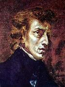 Frederic Chopin Eugene Delacroix