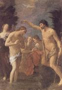 The Baptism of Christ Guido Reni