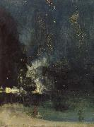 Nocturne in Black and Gold James Abbott Mcneill Whistler
