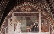 The Annunciation Barna da Siena