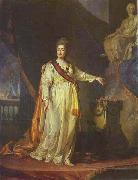 Catherine II as Legislator in the Temple of the Goddess of Justice Dmitry Levitzky