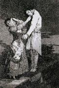 Out hunting for teeth Francisco de goya y Lucientes