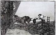 The Bravery of Martincho in the Ring of Saragassa Francisco de goya y Lucientes