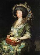 Portrait of the Wife of Juan Agust Francisco de goya y Lucientes