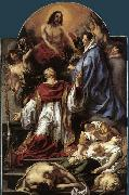St Charles Cares for the Plague Victims of Milan JORDAENS, Jacob
