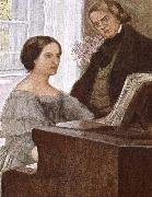 clara and robert scumann johannes brahms