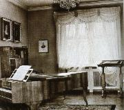 schumann s study at his home in zwickau johannes brahms