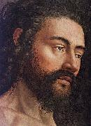 The Ghent Altarpiece: Adam (detail EYCK, Jan van