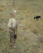Boy with a Crow Akseli Gallen-Kallela