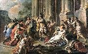 Horatius Slaying His Sister after the Defeat of the Curiatii Francesco de mura