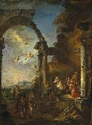 Adoration of the Shepherds Giovanni Paolo Panini