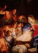 Adoration of the shepherds Guido Reni