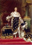 Portrait of the King Charles X of France in his coronation robes Jean Urbain Guerin
