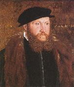 Portrait of an Unknown Man in a Black Cap John Bettes the Elder