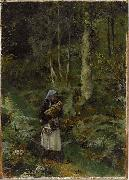 With a Babe in the Woods tadema