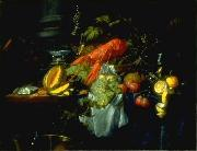 Still Life with Lobster Pieter de Ring