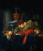 Still Life with a Golden Goblet Pieter de Ring