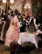 After the Opera Ball Akseli Gallen-Kallela