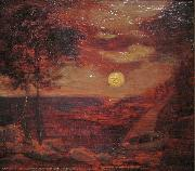The Lovers' Boat Albert Pinkham Ryder