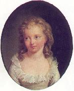 Portrait of Marie Therese de France Alexander Kucharsky