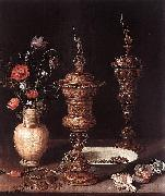 Still-Life with Flowers and Goblets Clara Peeters