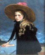 Henriette with the large hat Henri Evenepoel